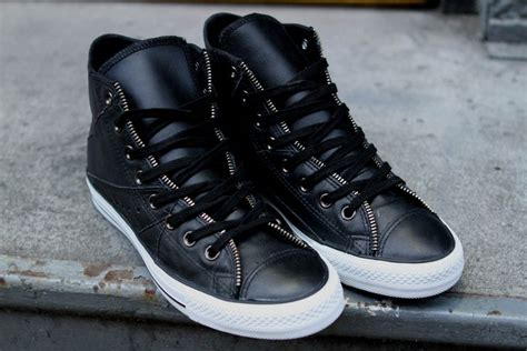 Converse Kulit Ox converse jacket hi low motorcycle pack sole collector