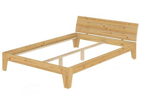 futon bettgestell 160x200 doppelbett massivholz bettgestell kiefer natur 160x200