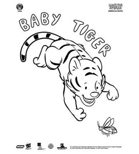 Tiger Family T Animal Cartoon And Alphabet For Children To Martha Speaks Coloring Pages
