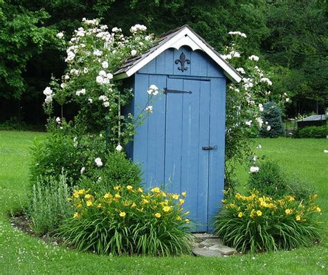 Outhouse Storage Shed Plans by Diy Outhouse Shed Design Plans Free