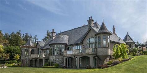 castle for sale castle for sale in saanich has hand carved doors elevator