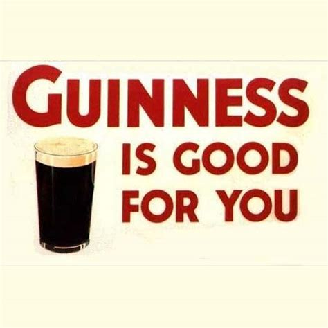 Is For You by The Health Benefits Of Guinness Happy St S