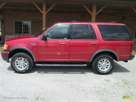 2002 Laser Red Ford Expedition Xlt 4x4 80838502