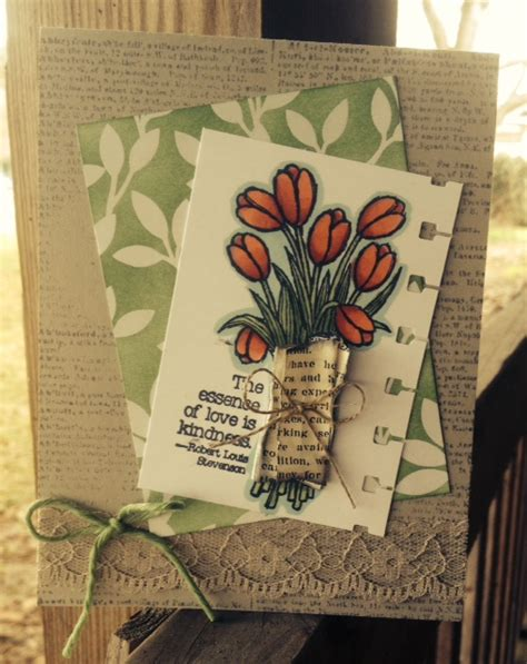 Handmade Cards Stin Up - here s a handmade card idea and tutorial with
