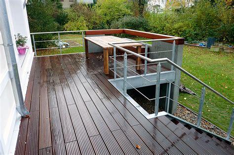 terrasse stahl terrassen unterkonstruktion aus stahl terrassen