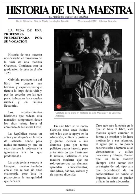 historia de una maestra 8420469637 historia de una maestra doc