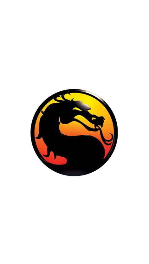 wallpaper iphone 5 mortal kombat mortal kombat logo iphone 5 wallpaper 640x1136