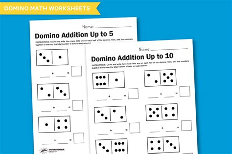 Domino And The Search For Identity Worksheet Wednesday Domino Math Paging Supermom