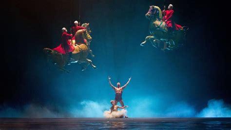 cavalli volanti cirque du soleil mondi lontani 3d cavalli volanti in una