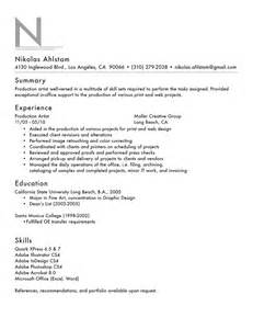 The Resume Layout by Resume Layout Search Results Calendar 2015