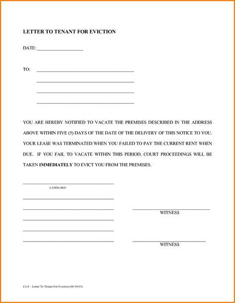 free printable eviction notice letter sle eviction letter website resume cover letter