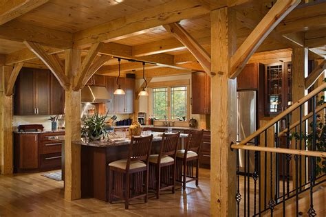 a frame kitchen ideas timber frame kitchen contemporary kitchen new york