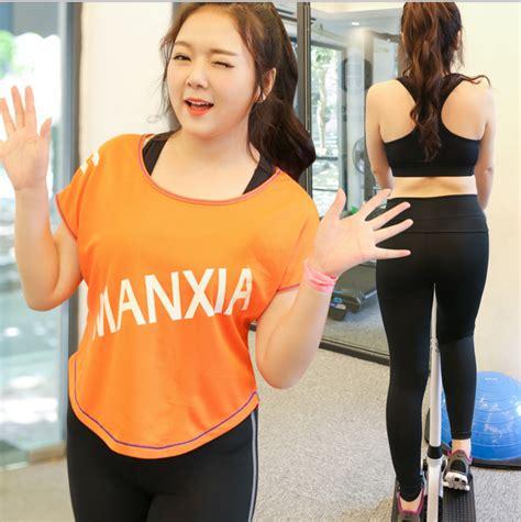 Pakaian Fitnes Wanita plus ukuran pakaian top dan celana pakaian wanita olahraga pakaian fitness