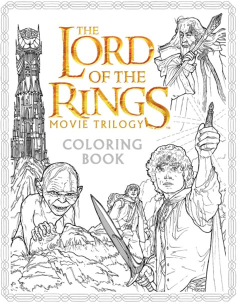 lord of the rings coloring book books hobbit news and rumors theonering net