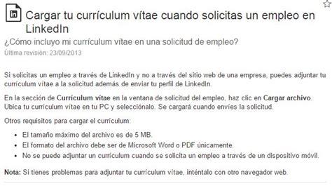 Modelo Curriculum Linkedin C 243 Mo Enviar El Curr 237 Culum Desde Linkedin Modelo Curriculum