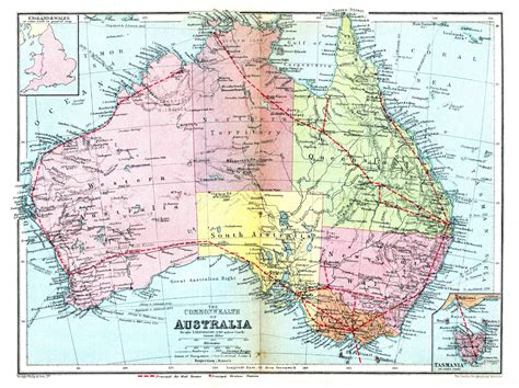 printable road maps of australia large detailed road and administrative old map of