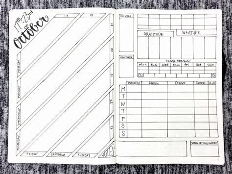 Bullet Journal Template Free Bullet Journal Templates