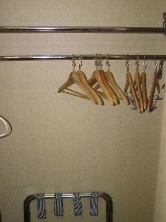 Q Connect Drawing Hangers by Closet With Hangers Picture Of La Quinta Inn Suites