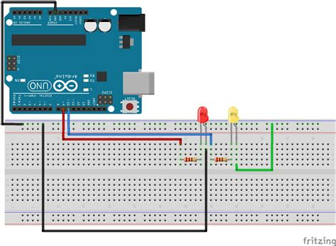 arduino lesson 3 for loops for simple led circuit technology tutorials