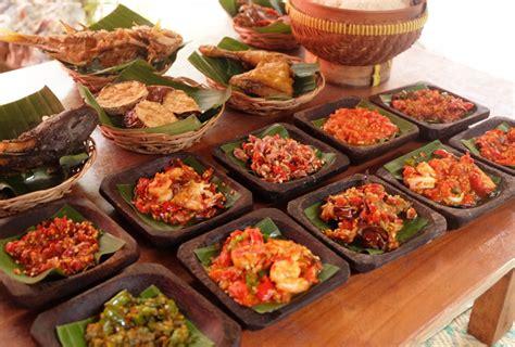 menu sambal berkompetisi mengoda selera makan portal