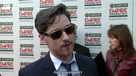 james mcavoy xmen contract james mcavoy interview x men news empire awards 2012