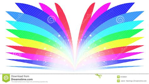 rainbow book stock illustration image  creative
