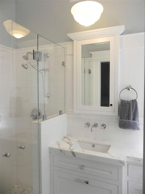 small master bath conversion from 1 2 bath
