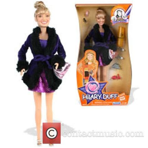 Hilary Duff In A New Doll by Picture Hilary Duff Becomes A Usa Thursday