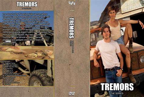 the series tremors the series dvd cover