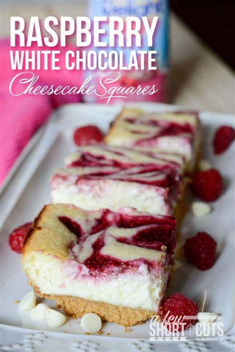 chocolate raspberry cheesecake delight together as family raspberry white chocolate cheesecake squares a few shortcuts