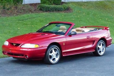 1996 convertible mustang 1996 ford mustang cobra convertible 201090