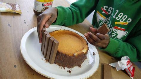 kinder backen kuchen tolla torte ohne backen sautorte