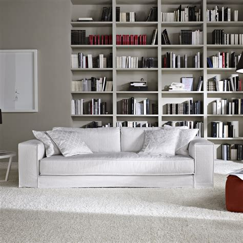 white linen sofa uk minerale modern grey leather italian sofa