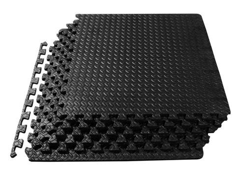 Exercise Mat Tiles by 72sq Ft Puzzle Soft Foam Floor Interlocking Tiles