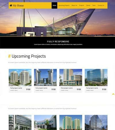 One Page Real Estate Website Templates Free Bootstrap Template Real Estate Download Now Download One Page Real Estate Website Templates