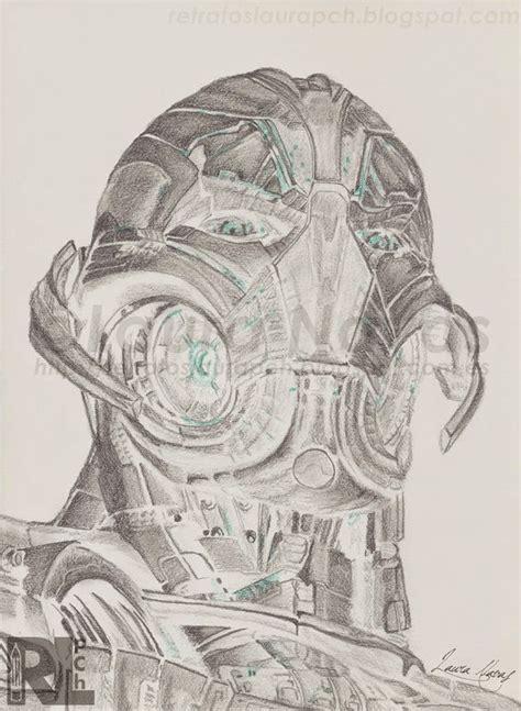 Pch Drawing - retratos laura pch ultron retrato realizado con l 225 pices de grafito y