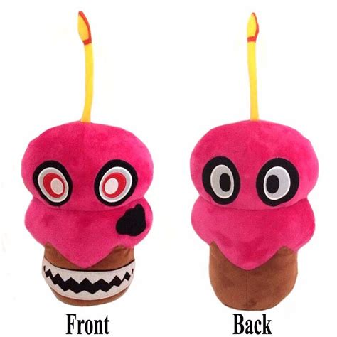 boneco pelucia  nights freddy fnaf cupcake pronta