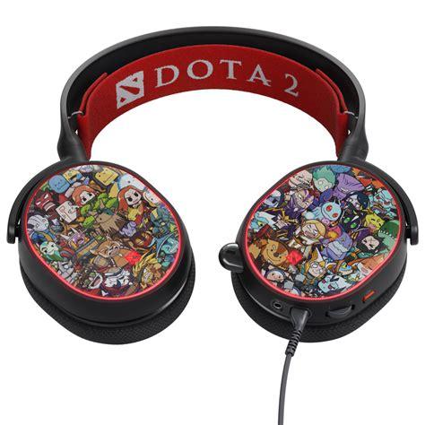 Headset Steelseries Arctis 5 7 1 Dota 2 Limited Edition dota 2 edition steelseries arctis 5 gaming headset e club