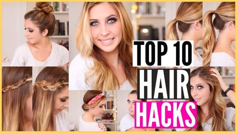 hairstyles every girl must know astonishing hair hacks every girl must know the