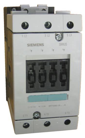 Contactor Siemens 3rt1045 1a siemens 3rt1045 1a 0 sirius contactor