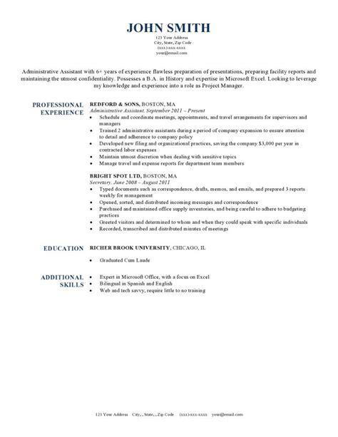 free professional resume exles 2015 jobresumeweb harvard resume template 2015
