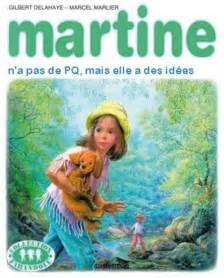 best of parodies de couvertures martine