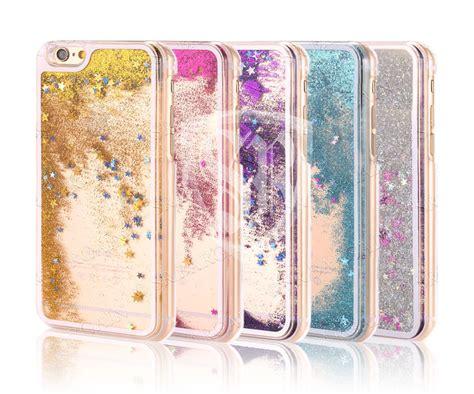 Hardcase Sparkle Glitter Water bling water glitter cover clear for all smart phones ebay
