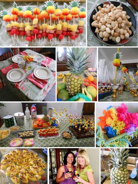 food ideas for tropical wedding shower 2 hawaiian themed hawaiian