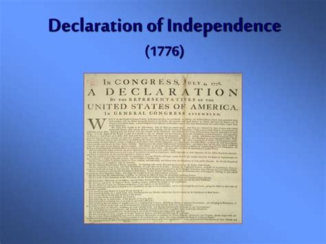 sections of the declaration of independence ppt the constitution powerpoint presentation id 5892774