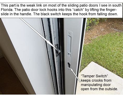 sliding glass door outside lock how to lock a sliding glass door from the outside jacobhursh