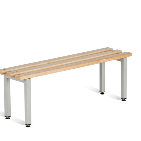 locker room benches free standing beech slatted bench seats cloakroom equipment 3d lockers