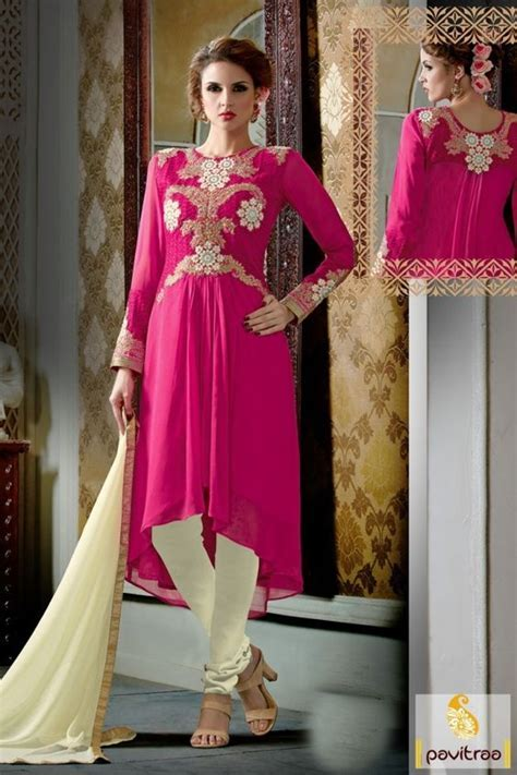 All special occasion wear latest pink georgette designer