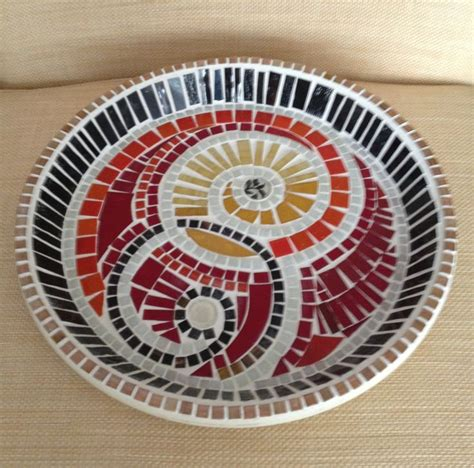 mosaic pattern plates 17 best images about mosaic dishes on pinterest serving