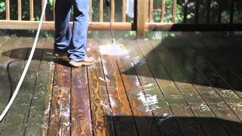revitalizing  pressure treated wood deck pt